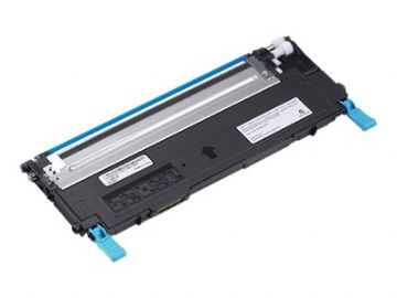 Dell 1230 / 1235 J069K Cyan Refurbished Toner Cartridge 593-10494